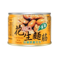 青葉特Q花生麵筋 170g