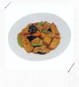 Red Braised Tofu